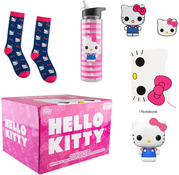 Funko Hello Kitty 45th Birthday Collectors Box with Pop! Vinyl Figure and Notebook, Patch, Pin, Socks & Water Bottle 889698446501 B07XPF5GJP BrickPops