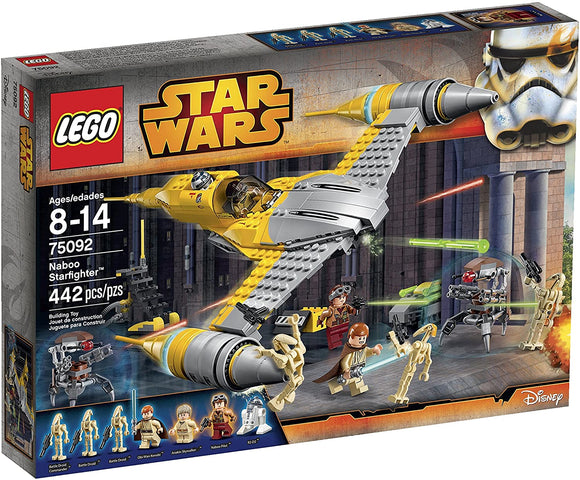 LEGO Star Wars 75092 Naboo Starfighter (442 Pieces) Building Kit