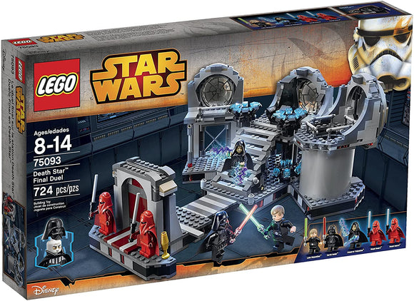 LEGO Star Wars 75093 Death Star Final Duel (724 Pieces) Building Kit