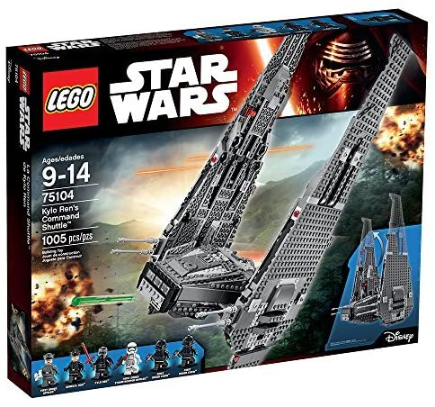 LEGO Star Wars 75104 Kylo Ren's Command Shuttle (1005 Pieces) Building Kit