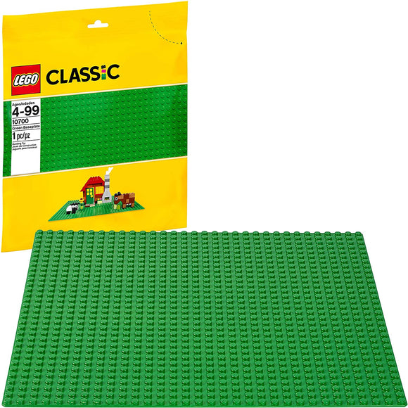 LEGO Classic 2304 Green Baseplate (1 Piece) Building Kit