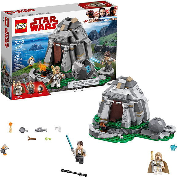 LEGO Star Wars 75200 Ahch-To Island Training (241 Pieces) Building Kit