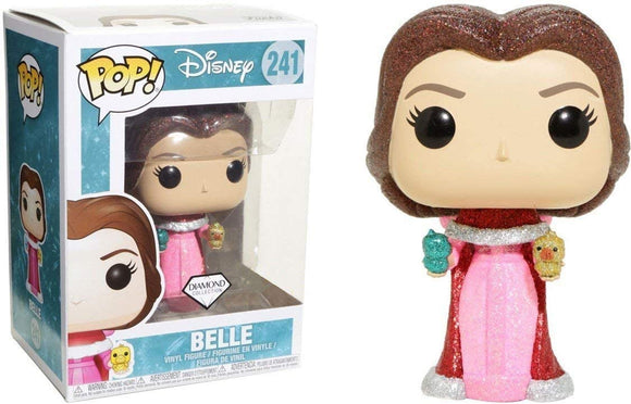 Funko Pop! Disney Beauty and the Beast Belle #241 Diamond Collection Vinyl Figure