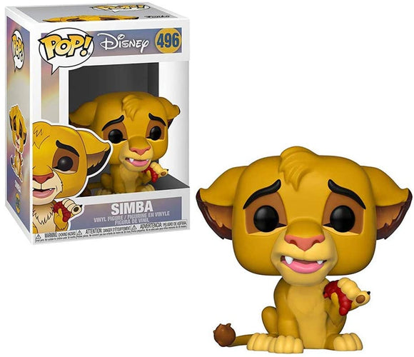 Funko Pop! Disney Lion King Simba #496 Vinyl Figure