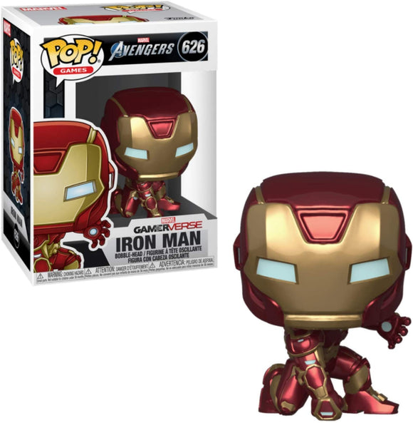 Funko Pop! Marvel Avengers Iron Man #626 Multicolor Vinyl Figure 889698477567 B07XF7X5KH BrickPops