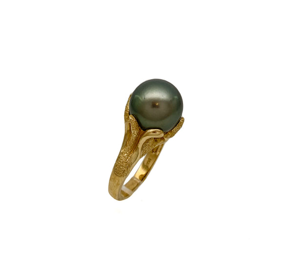 Tahitian Cocktail Pearl Ring