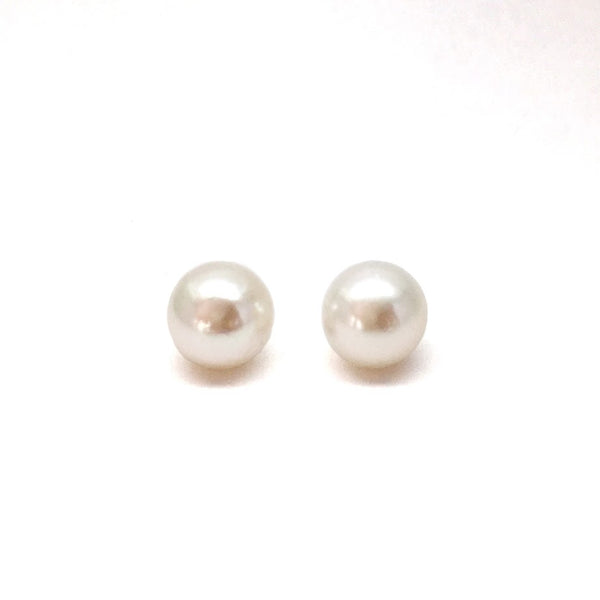 Creamy White South Sea Studs