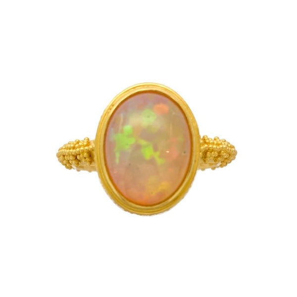 Cheops Ethiopian Opal Ring