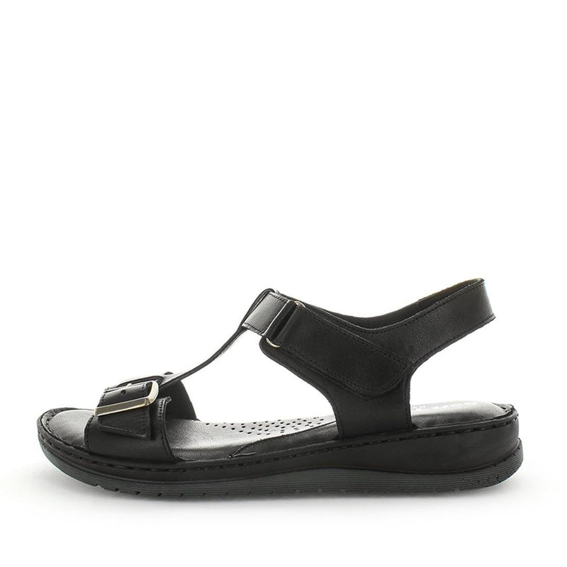 Began by softtread - soft quality leather sandal - womens sandals - soft leather shoes - womens shoes - double buckle adjustable straps