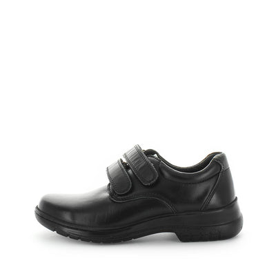 Jardoe by wilde school shoes - back to school shoes - leather shoes for kids - junior kids school shoes - kids shoes - school shoes - bts - black shoes
