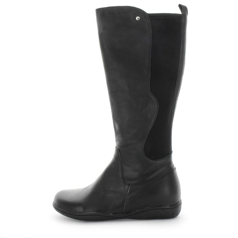 womens long boots, womens leather boots, long comfort boots, soft tread