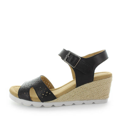 rope wedges, espadrilles, comfort espadrilles, wedge sandals, womens sandals, ladies wedges, comfort wedges, soft tread by allino, bispa