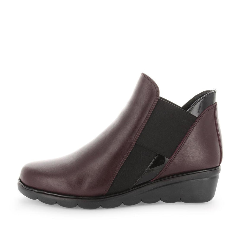 Womens boots, womens ankle boots, the flexx shoes, womens slip on ankle boots, womens wedge boots, bootstrap