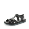 Boronia by softtread - soft quality leather upper with adjustable straps. padded insoles and a neat cross over leather design - womens sandals - womens shoes - summer sandals
