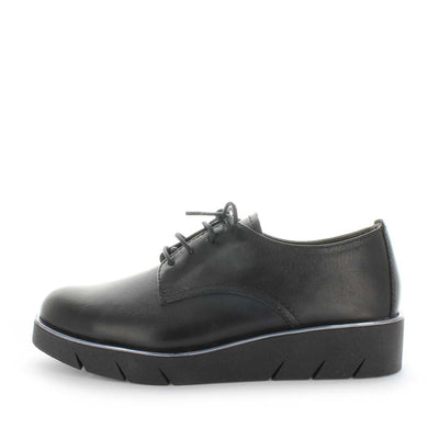 womens leather shoes, womens laceup leather shoes, the flexx brent