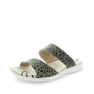 century, just bee, womens shoes, ladies shoes, womens slip on, ladies slip on, womens leather slip on, leather strap slip on, casual leather slip on, comfortable slip on, leopard print slip on, leopard print leather shoes,