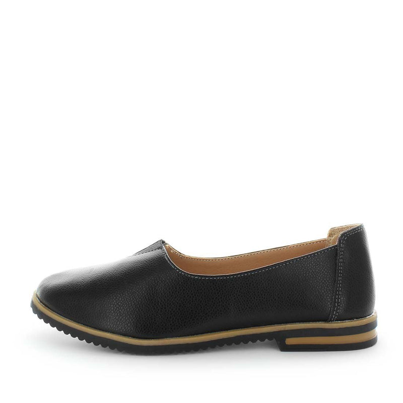 womens flats, womens comfort shoes, womens leather shoes, just bee shoes, chai, slip on