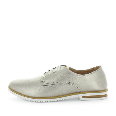 Coronel by Just Bee - Just Bee Comfort - iShoes - brogue style shoes with lace-up closure, padded extra comfort footbed and leather materials - womens shoes  womens sneakers - womens leather shoes - leather brogues - comfort shoes