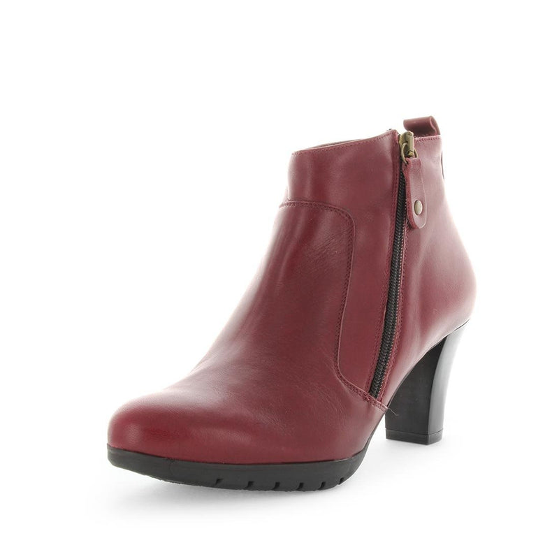desiree, denish, womens boot, zip up, leather boot, high heel