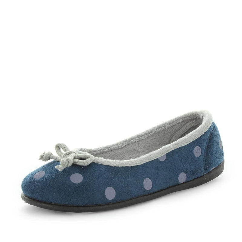 emi, panda, womens slipper, womens comfort, slip on