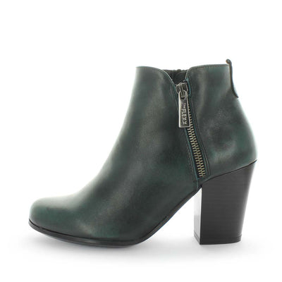 womens ankle boots, womens leather heel ankle boots, the flexx fandango
