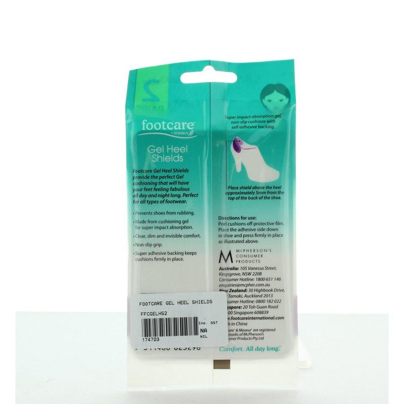 GEL HEEL SHEILDS by FOOTCARE - iShoes - Accessories, Accessories: Shoe Care - SHOECARE-UNISEX