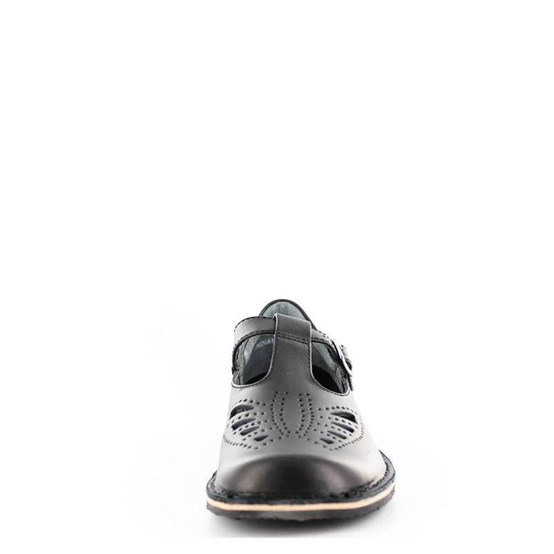 girls school shoes, senior school shoes, INDIANA II-SNR, T-bar shoes, harrison