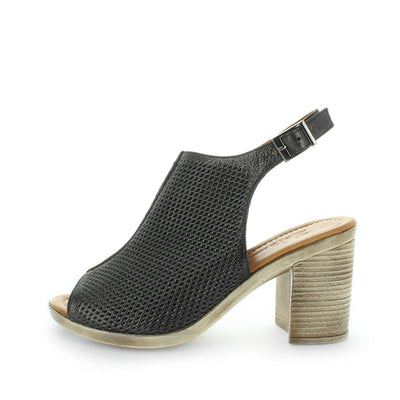 womens shoes, ladies shoes, womens leather shoes, womens leather heels, mid high block heels, block heel shoes, buckle heels, zola, zola collection, huxley