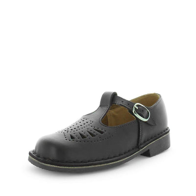 junior school shoes, girls school shoes, strapped school shoes