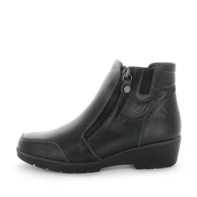 womens comfort boots, comfort ankle boots, black womens ankle boots