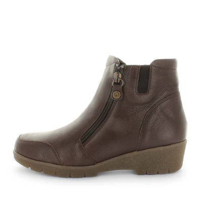 womens comfort boots, comfort ankle boots, brown womens ankle boots