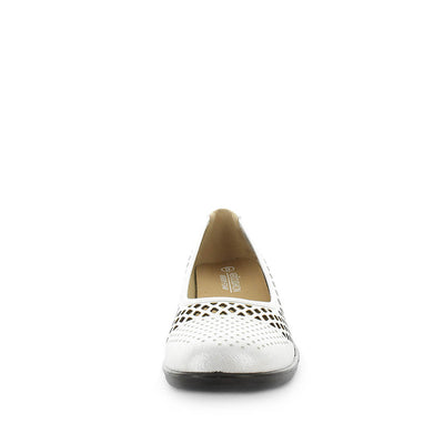 Maclean by areocushion - womens flats - womens detailed flats - hole punched upper - leather materials - neat tidy flats for women