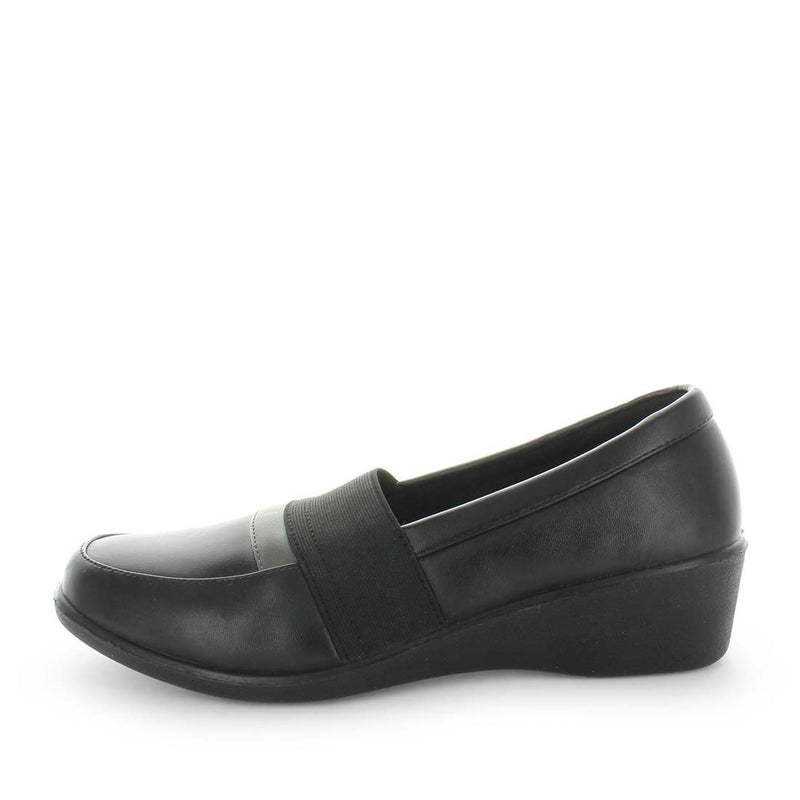 womens work shoes, womens flats, aerocushion