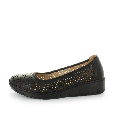 womens flats, ladies flats, womens synthetic flats, ladies shoes, lightweight flats, lightweight shoes, flexible flats, memory foam sock flats, memory foam insole flats, leather sock flats, aerocushion, marlon