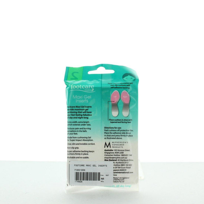 MAXI GEL INSERTS by FOOTCARE - iShoes - Accessories, Accessories: Shoe Care - SHOECARE-UNISEX