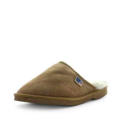 lassic Men's indoor sheepskin scuffs.  Made from 100% premium Australian sheepskin. These scuffs are a Must-have item for every home and will last years!  Fitted with a light EVA sole unit, these are great for indoor use.