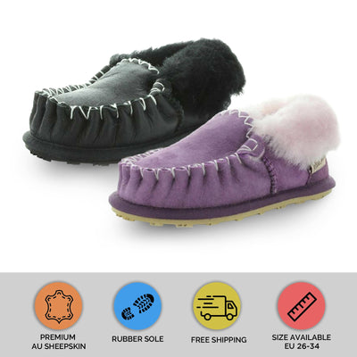 MOCCASIN KIDS by YELLOW EARTH - iShoes - Sale, Women's Shoes: Slippers - FOOTWEAR-FOOTWEAR