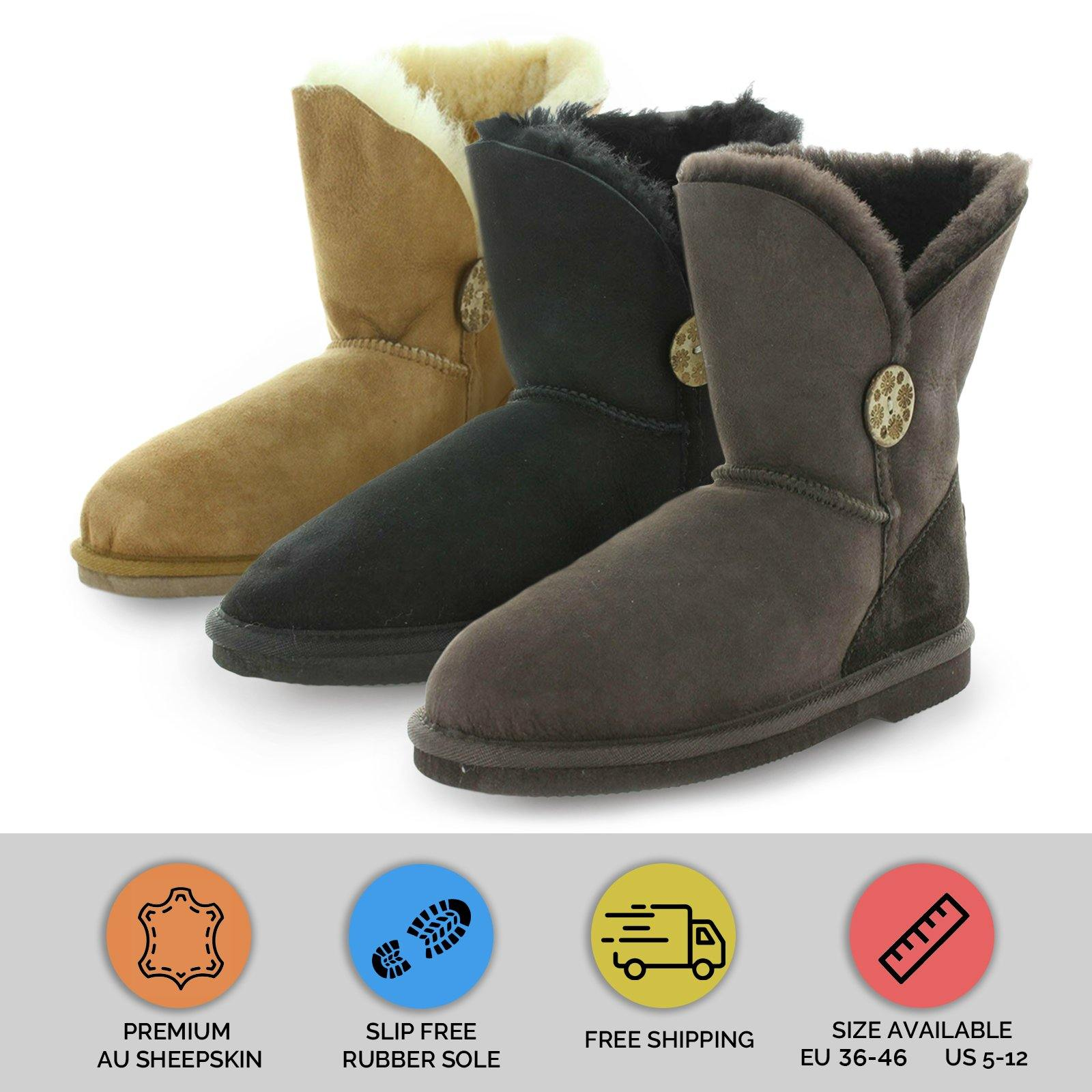 NOOSA SHORT BOOTS by YELLOW EARTH - iShoes - Sale, Women's Shoes, Women's Shoes: Slippers - FOOTWEAR-FOOTWEAR