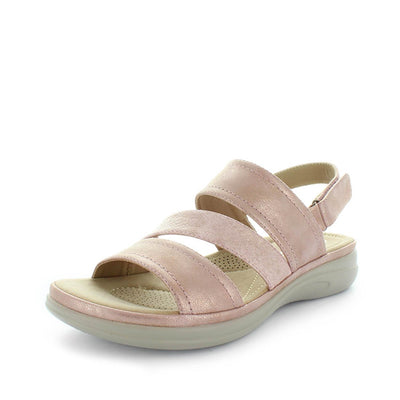 womens comfort sandal, wilde, womens sandals, womens synthetic sandals, ladies sandals, ladies shoes, comfort sandals, comfort shoes, velcro sandals, padded sock sandals, cushioned sock sandals, comfortable shoes, santera