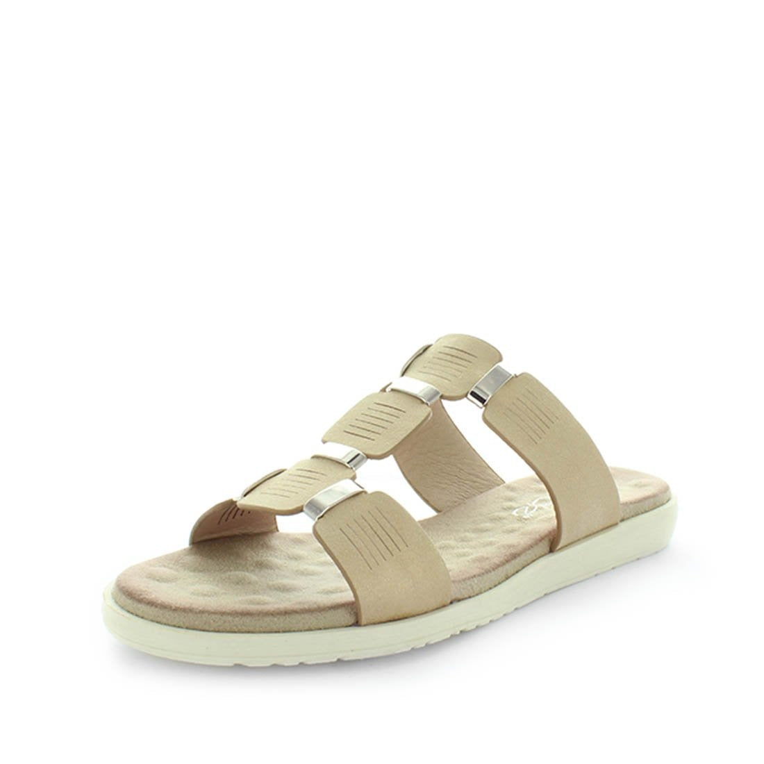 womens slides, womens summer sandals, womens slip on sandals, wilde shoes