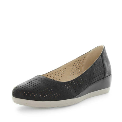 spirit, wilde, womens shoes, ladies shoes, womens flats, ladies flats, low wedge flat, flexible shoes, flexible flats, shimmer shoes, shimmer flats, fashionable flats, slip on flats, casual ladies shoes, casual womens shoes, lightweight shoes, lightweight flats, comfort shoes, comfortable flats, black colour shoes, black colour flats, black flats