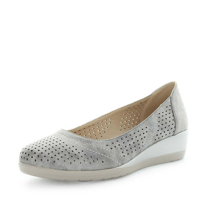 spirit, wilde, womens shoes, ladies shoes, womens flats, ladies flats, low wedge flat, flexible shoes, flexible flats, shimmer shoes, shimmer flats, fashionable flats, slip on flats, casual ladies shoes, casual womens shoes, lightweight shoes, lightweight flats, comfort shoes, comfortable flats, silver colour shoes, silver colour flats, silver flats