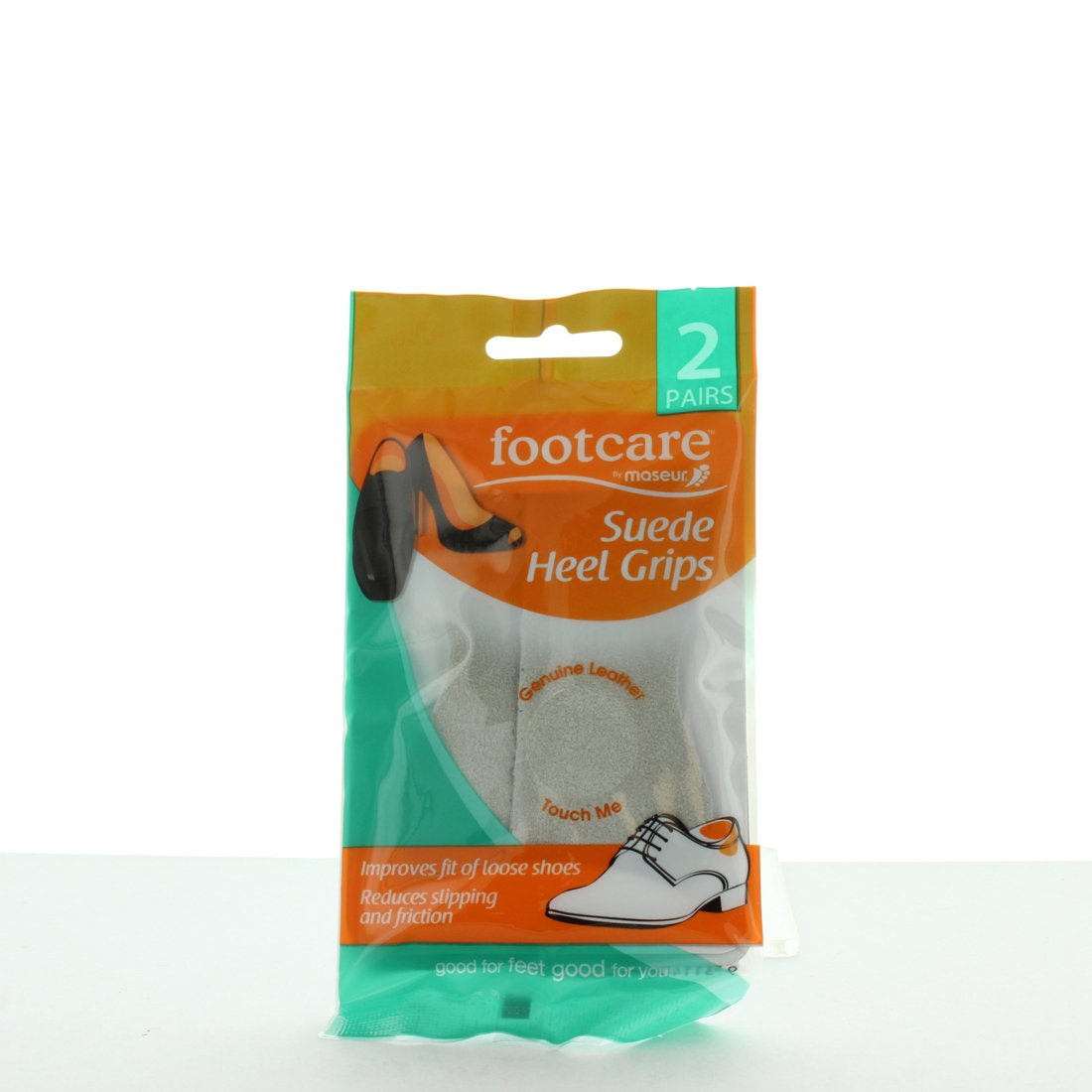 SUEDE HEEL GRIPS by FOOTCARE - iShoes - Accessories, Accessories: Shoe Care - SHOECARE-UNISEX