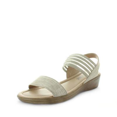 womens sandals, womens synthetic sandals, ladies slip-on sandals, wilde shoes , sullina