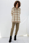 ALPACA V NECK SWEATER W20