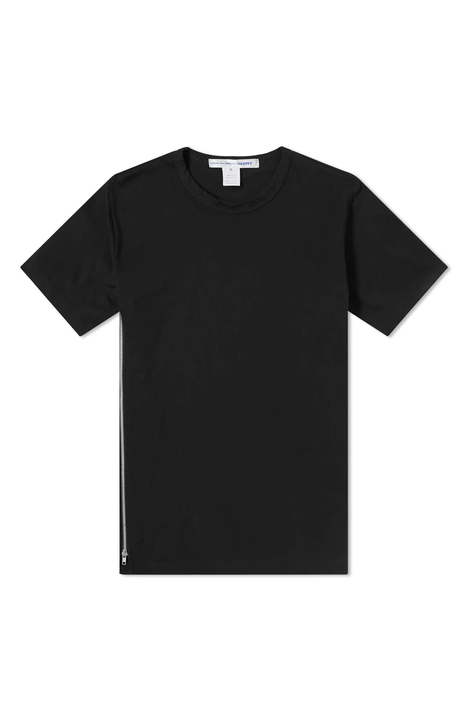 T SHIRT WITH ZIPS