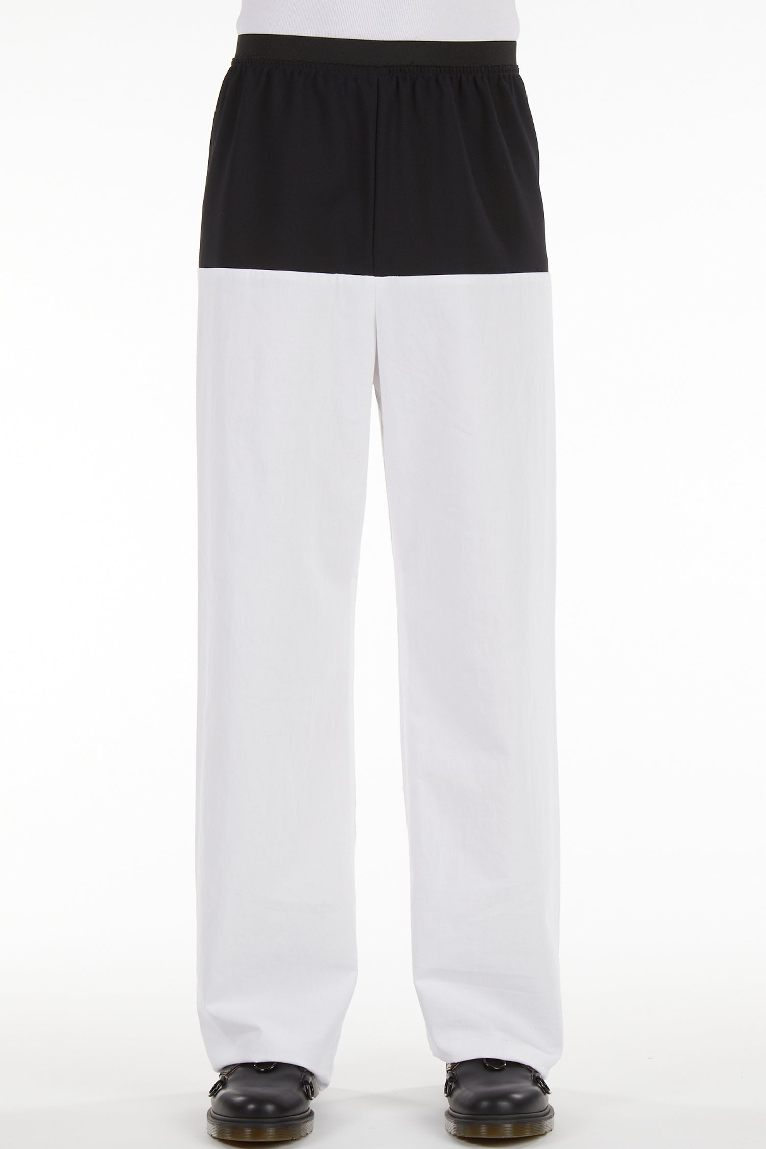 ELASTIC PANTS HORIZONTAL CUT