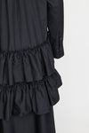 FRILL TIER SHIRT DRESS (A)