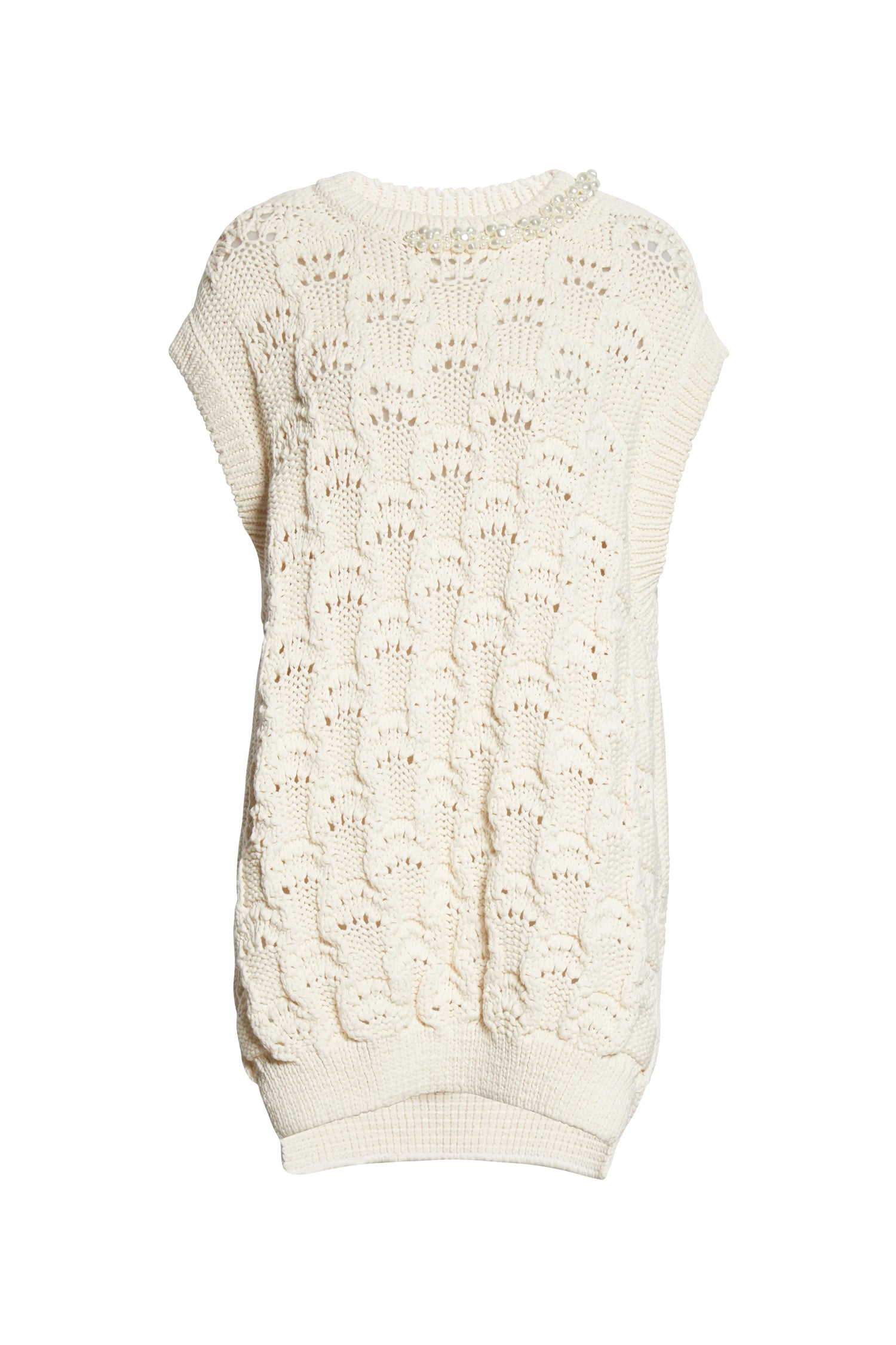 EMBELLISHED OVERSIZED BUBBLE VEST (S21)