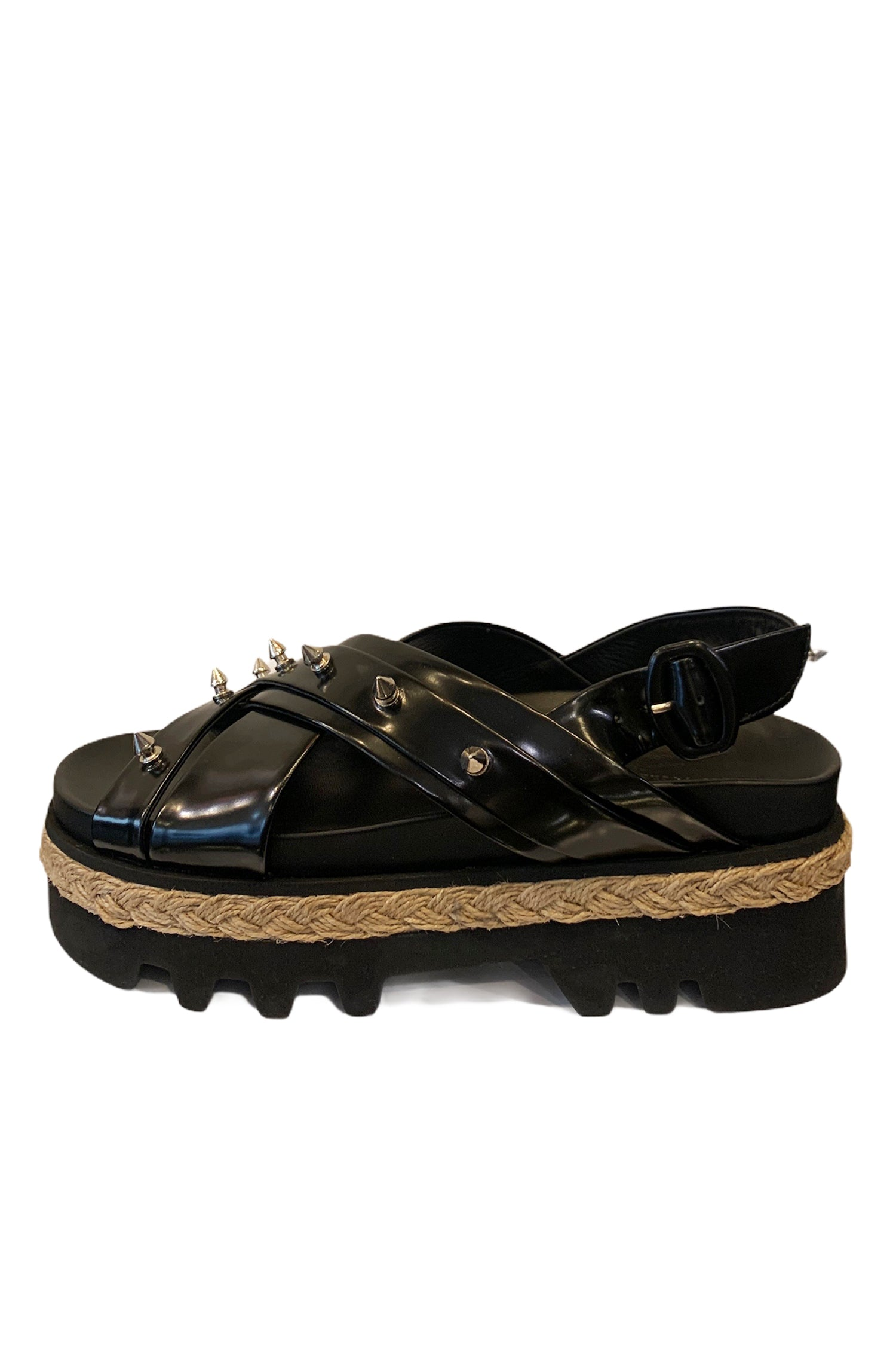 CROSS STRAP SANDAL